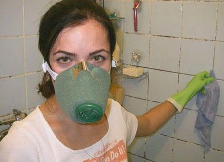 Защита при работе с химией
