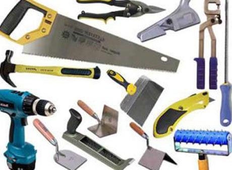 Инструменты для монтажа потолка из гипсокартона