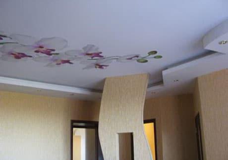 Художественная роспись потолка