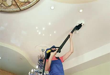 Устранение неполадок на подвесном потолке