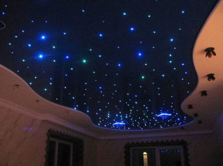 Звездный подвесной потолок