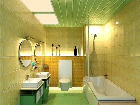 Сайдинг в ванной комнате