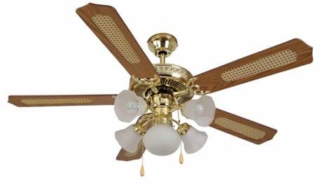Люстра-вентилятор для дома