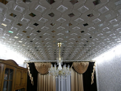 Инжекционные потолочные плиты