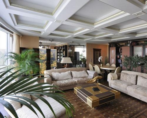 Кессонный потоло