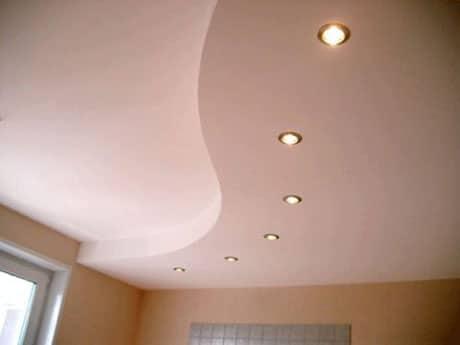 Ровный потолок из гипсокартона