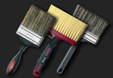 Кисти для работ по окраске потолка