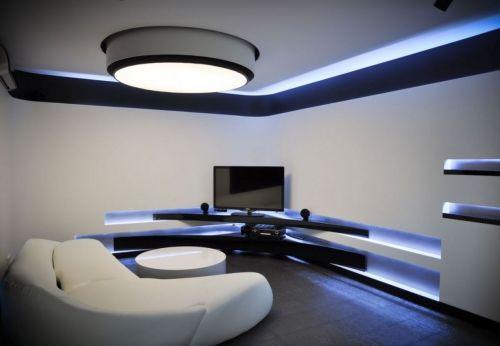 Дизайн со светодиодными панелями