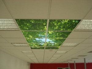 Кассетное покрытие потолка