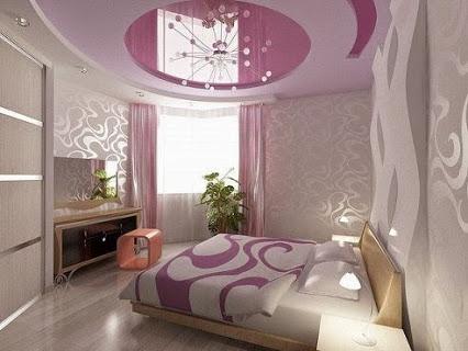Потолок спальни