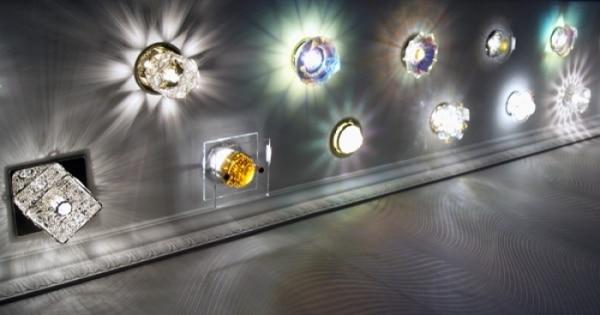 Варианты светильников