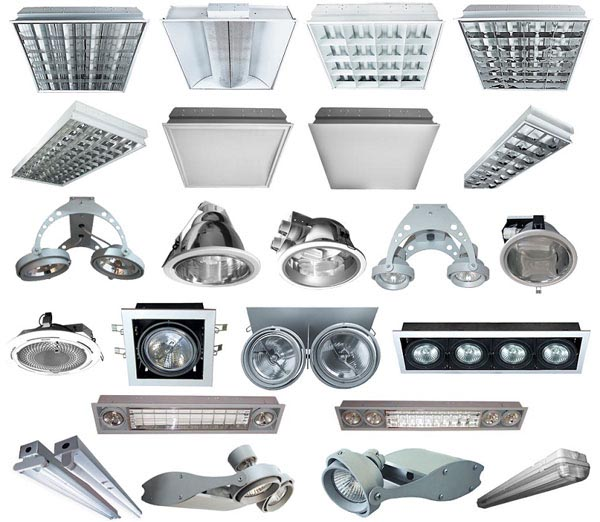 Модели светильников
