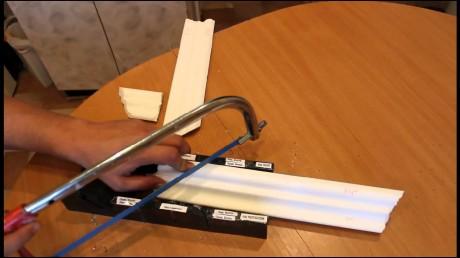 подрезание планок с помощьюстусла