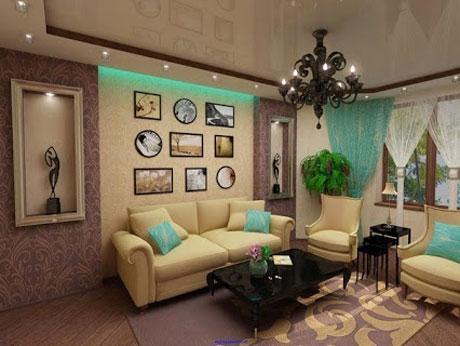 Комната с шумоизоляцией потолка