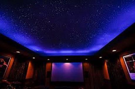 Звездный потолок с подсветкой
