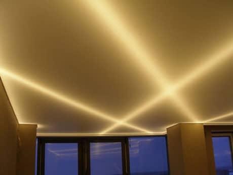 Светодиодная подсветка потолка