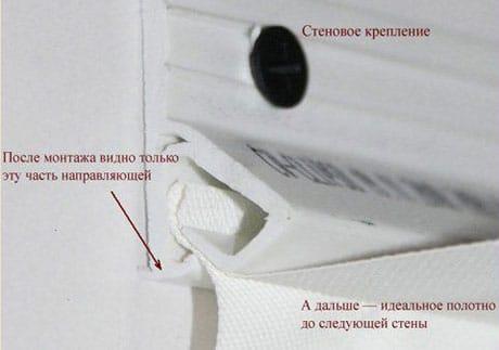 Правила крепления тканевого потолка