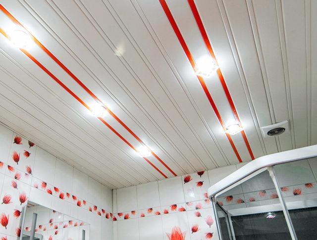 Реечный ПВХ-потолок