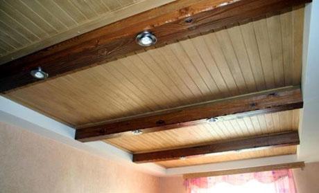 Фальш-балки для отделки потолка
