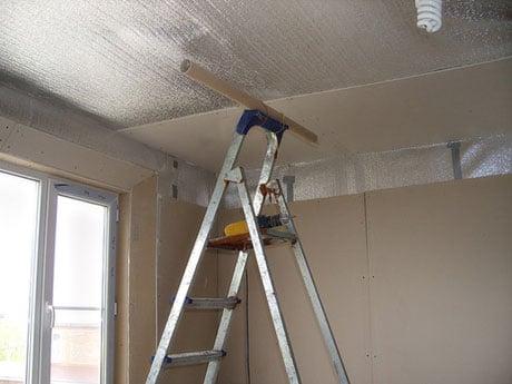 Изоляция и утепление потолка